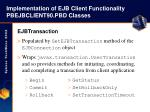 implementation of ejb client functionality pbejbclient90 pbd classes24