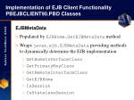 implementation of ejb client functionality pbejbclient90 pbd classes25