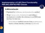 implementation of ejb client functionality pbejbclient90 pbd classes26