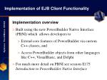 implementation of ejb client functionality18