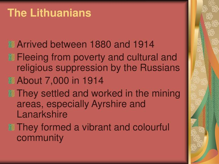 The Lithuanians
