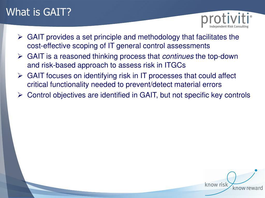 What is GAIT?