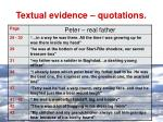 textual evidence quotations5