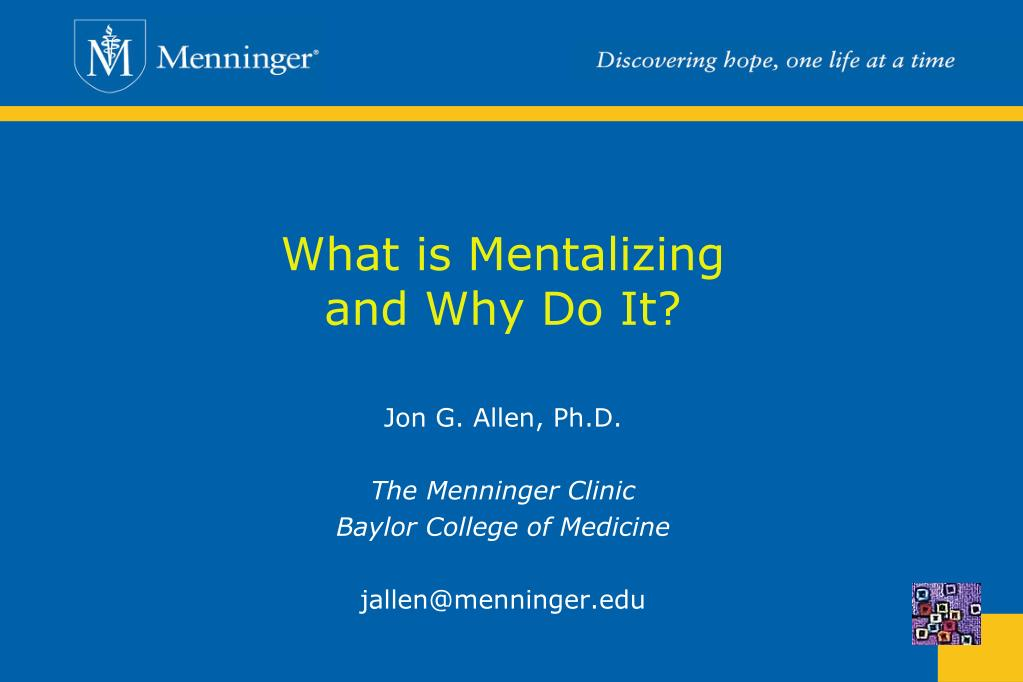 what is mentalizing and why do it l.