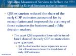 updating measures of services to reflect the expanding role of services in the economy8
