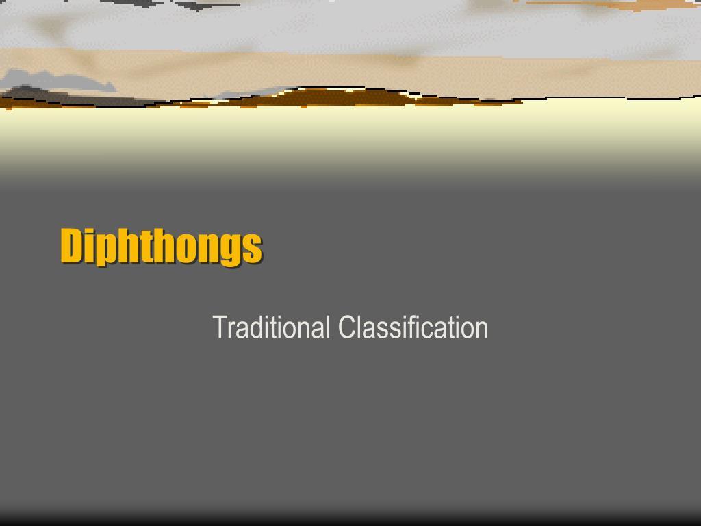 diphthongs l.