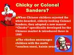 chicky or colonel sanders10
