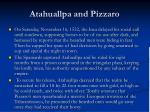 atahuallpa and pizzaro