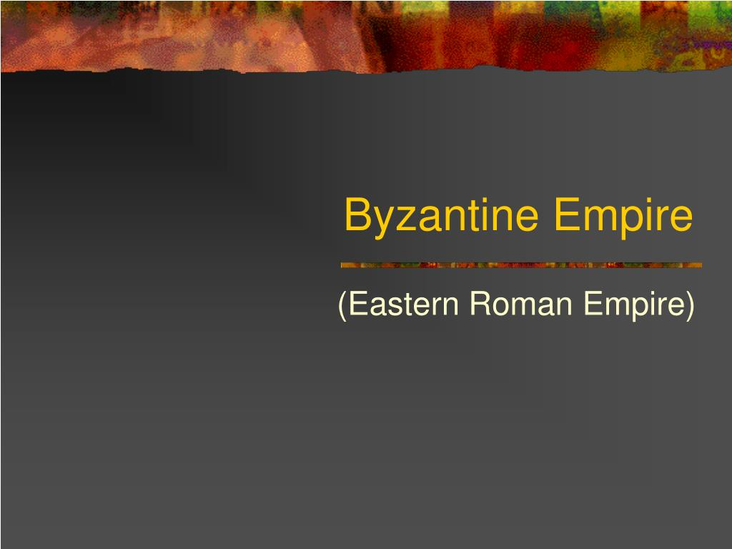 byzantine empire l.