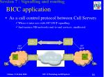 bicc application