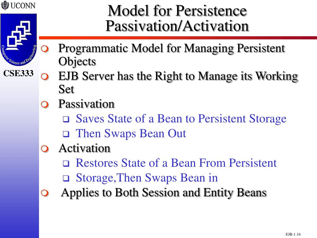 Model for Persistence