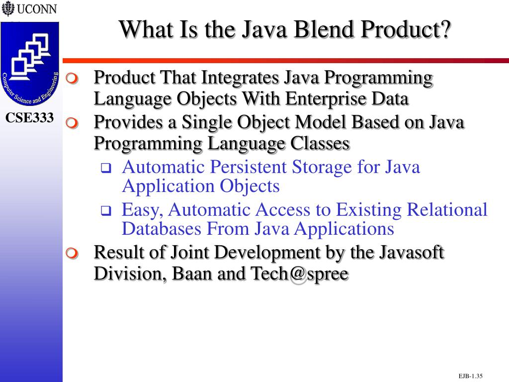 What Is the Java Blend Product?