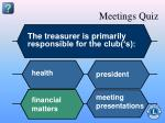 meetings quiz13