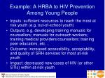 example a hrba to hiv prevention among young people
