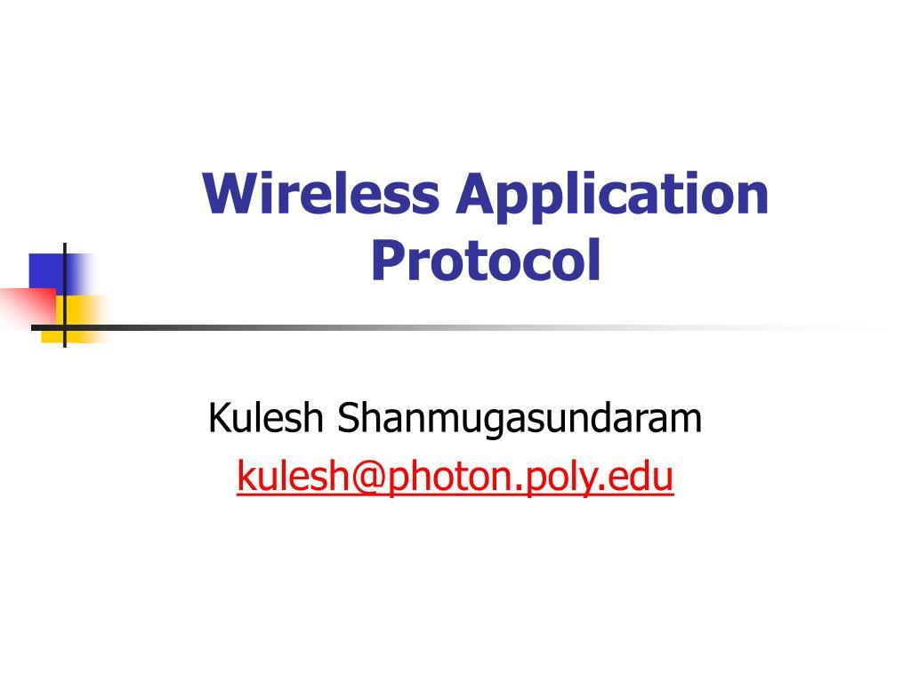 wireless application protocol l.