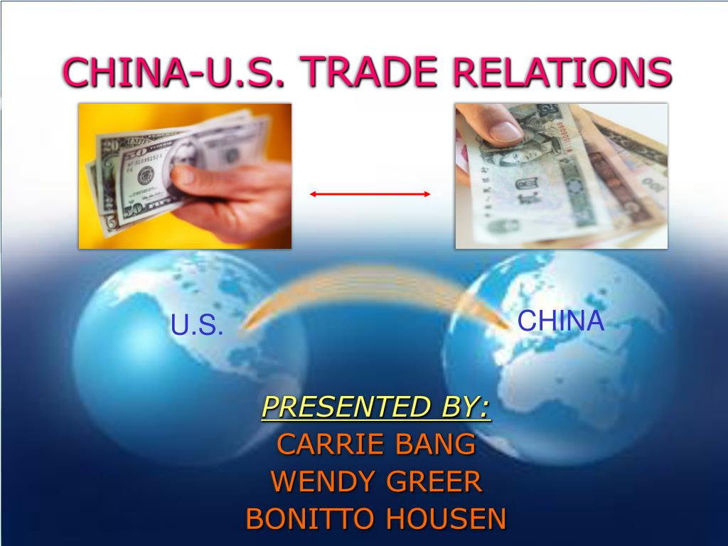 china u s trade relations l.