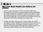 new york state health care reform act hcra37