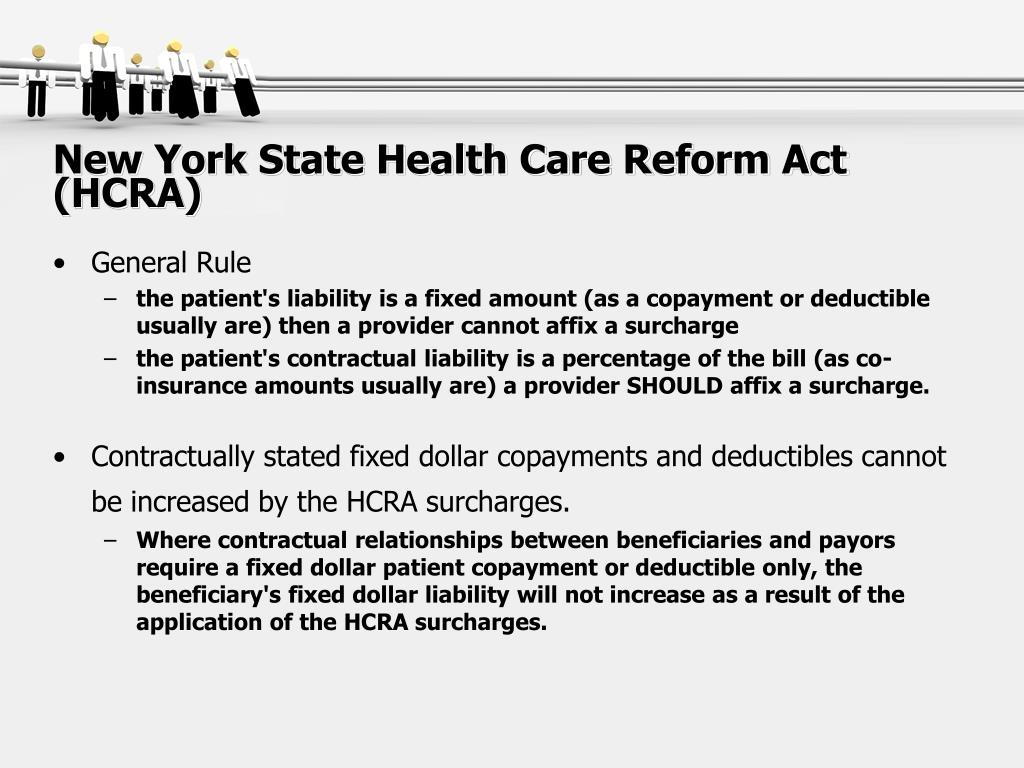 New York State Health Care Reform Act (HCRA)