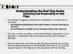 understanding the red flag rules detecting and responding to red flags