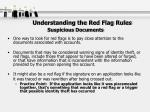 understanding the red flag rules suspicious documents