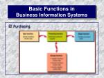 basic functions in business information systems13