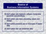 basics of business information systems4