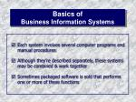 basics of business information systems5