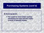 purchasing systems cont d32