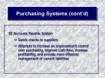 purchasing systems cont d33