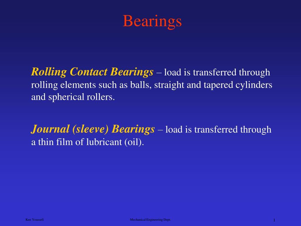 bearings l.