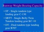 runway weight bearing capacity2