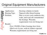 original equipment manufacturers