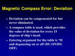 magnetic compass error deviation14