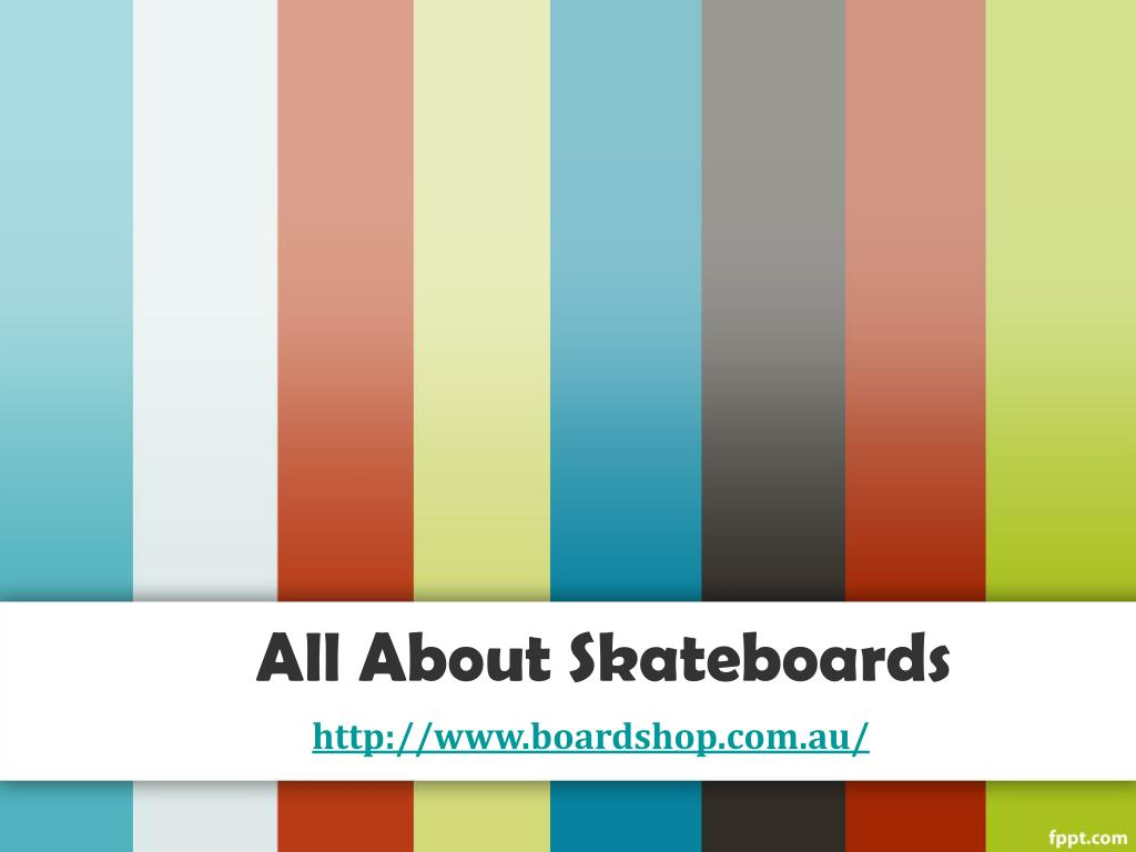 all about skateboards l.