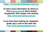 http www boardshop com au5