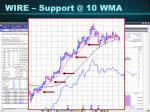 wire support @ 10 wma34