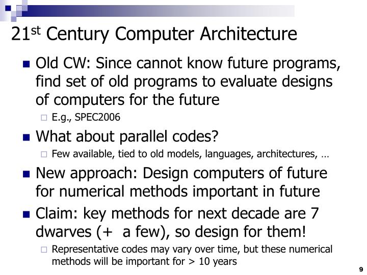 importance of computer in 21st century Common myths about 21st-century literacies myth: 21st-century literacy is about technology only reality: although technology is important to literacy in the new century, other dimensions of learning are essential studies of workforce readiness show that employers rate written and oral communication skills very highly, and.