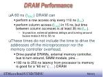 dram performance