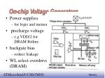 on chip voltage generators