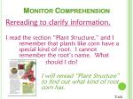 monitor comprehension15