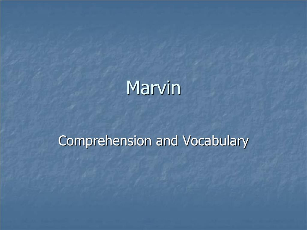 marvin l.