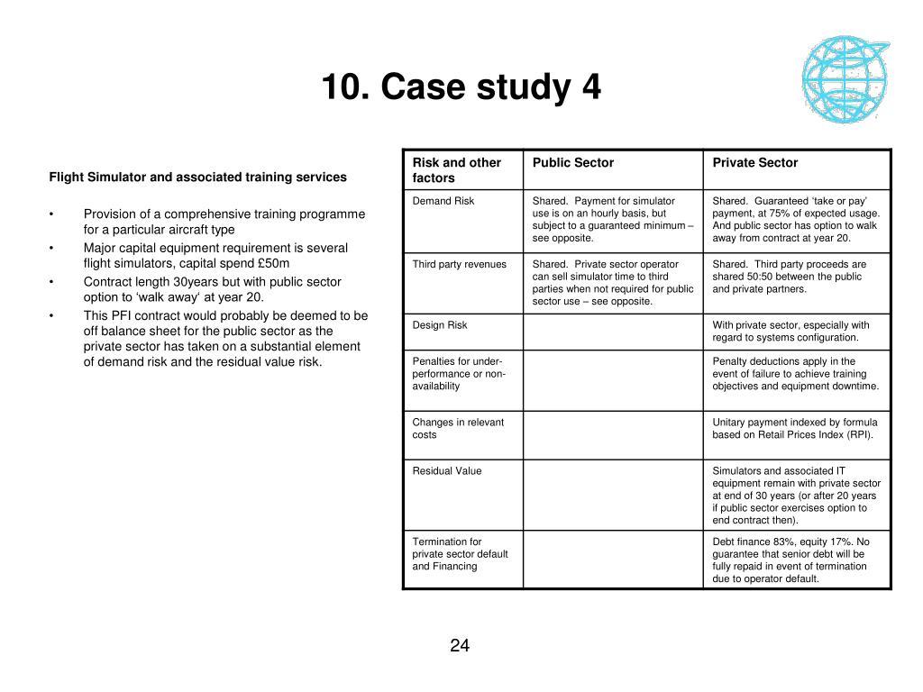 10. Case study 4