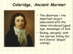 coleridge ancient mariner