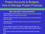 project accounts budgets how to manage project finances22