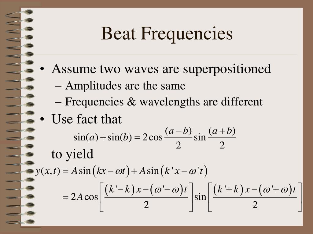 beat frequencies l.