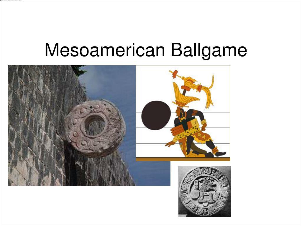 mesoamerican ballgame l.