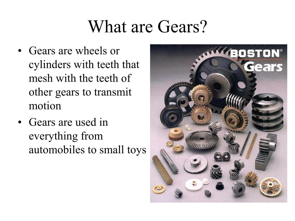 what are gears l.