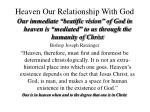 heaven our relationship with god48