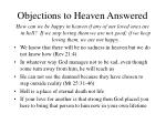 objections to heaven answered32