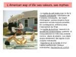 l american way of life ses valeurs ses mythes